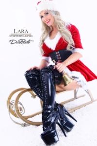 Weihnachtsstripshow mit Stripperin Leipzig